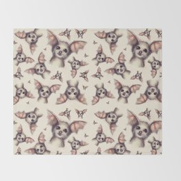 What the Fox - Pattern Throw Blanket