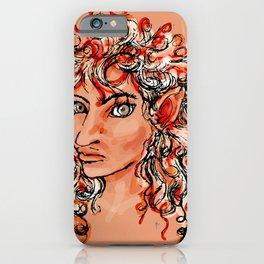Female elf profile 1d iPhone Case
