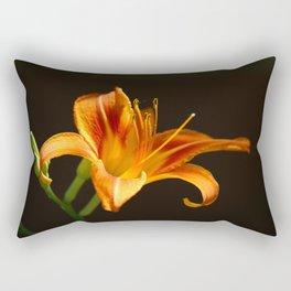 Orange The New Black Rectangular Pillow