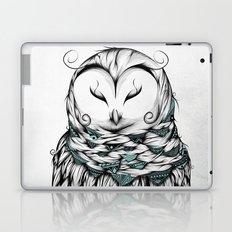 Poetic Snow Owl Laptop & iPad Skin