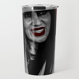 Zoot Suit Latina in New Mexico Travel Mug