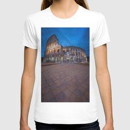 Colosseum at night T-shirt