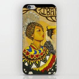 The Iban Girl iPhone Skin