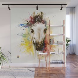 """Into the mirror"" n°2 The horse Wall Mural"