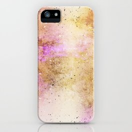 Gold dust iPhone Case