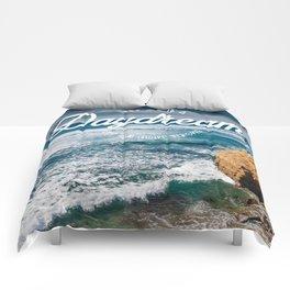 Sunset Cliffs Comforters
