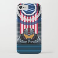 pacific rim iPhone & iPod Cases featuring Pacific Rim v2 by milanova