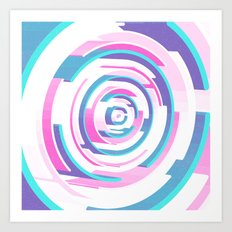Black Hole NEW COLORS Art Print