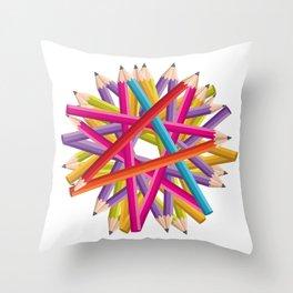 Starcolors Throw Pillow