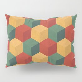 Retro Cubic Pillow Sham
