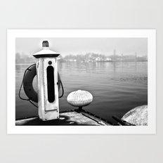 Foggi  Art Print