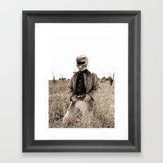 Power Texas Ranger Framed Art Print
