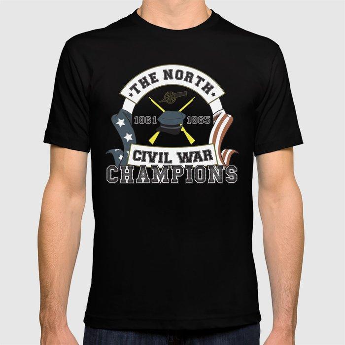 a7a7ffa2 American Civil War Champions - Northern Pride - The Union - Parody Shirt  T-shirt
