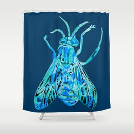 Horse Fly Shower Curtain