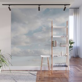 White Clouds | Classic Blue Wall Mural