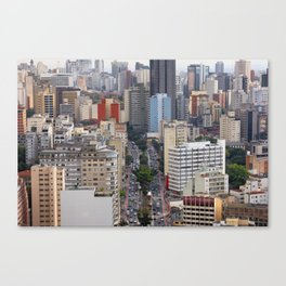 metropole Canvas Print