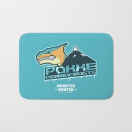 Monster Hunter All Stars - Pokke Permafrosts  Bath Mat