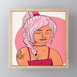Ty Lee  Framed Mini Art Print