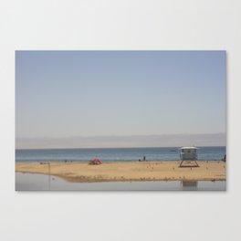 Sant Cruz Lifeguard Hut Canvas Print