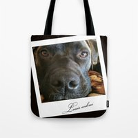 louis Tote Bags featuring Louis online by Laake-Photos