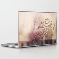 birdy Laptop & iPad Skins featuring Birdy by Caroline Campeau