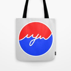 MJW 'PEPSI STYLE' Tote Bag