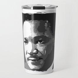 Martin Luther King Portrait Travel Mug