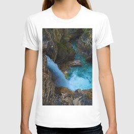 Stanley Waterfall & Beauty Creek in Jasper National Park, Canada T-shirt