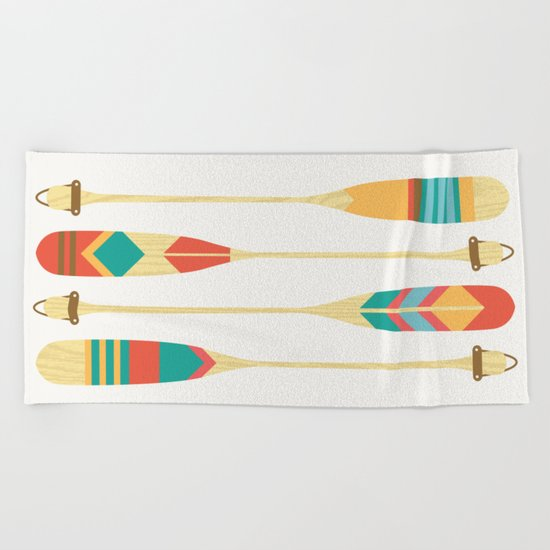 Summer Lake Beach Towel