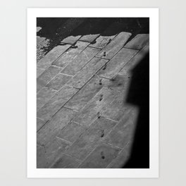 Footsteps to Sarajevo Art Print