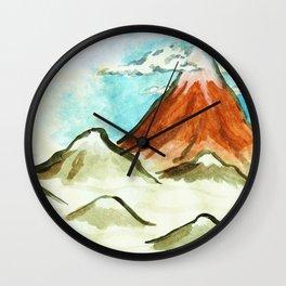 clearer air Wall Clock