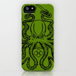 fight lab green iPhone Case