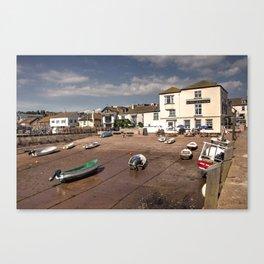 New Quay Inn  Canvas Print