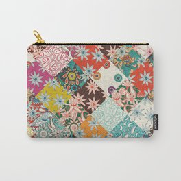 sarilmak patchwork Carry-All Pouch