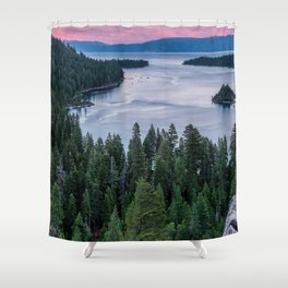 Beautiful Landscape of Lake shower curtain Shower Curtain