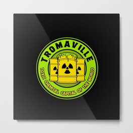 Toxic Chemical Capital of the World Metal Print