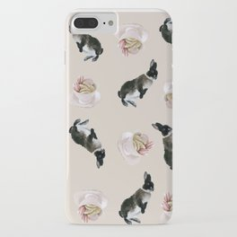 Rex and macaroons pattern iPhone Case