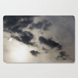 clouds in the sky Cutting Board
