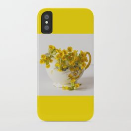 Cowslips iPhone Case