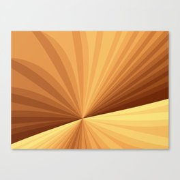 Graphic Design With Stripes Canvas Print