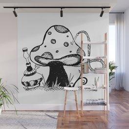 Absolem's Shroom Wall Mural