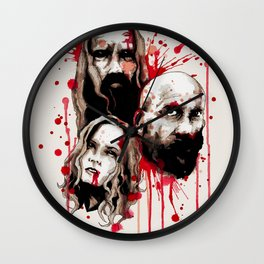 Cleansing of the Wicked Wall Clock