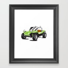 VW Dune Buggy Framed Art Print