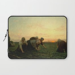 Jules Breton - The Weeders Laptop Sleeve