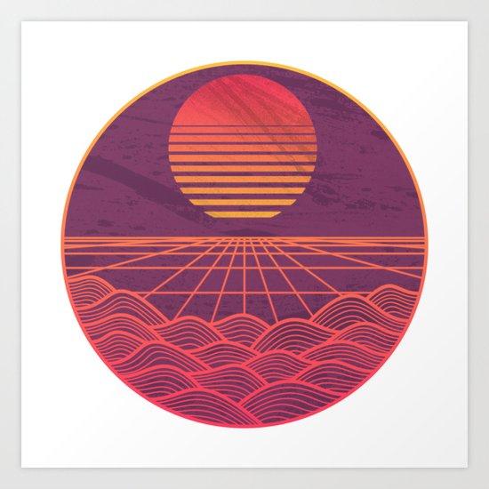 Turbo Drive Art Print