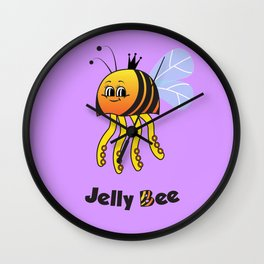 Jelly Bee Wall Clock
