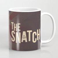 snatch Mugs featuring The Snatch - Stealin' Stones & Breakin' Bones by Thecansone