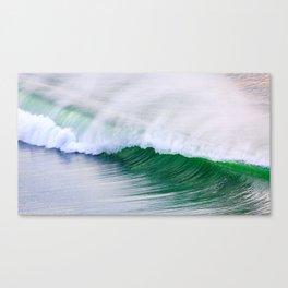Barrel Wave Crashing Canvas Print