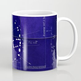 Druids Circle, Castlerigg, Keswick, Cumbria blueprint Coffee Mug