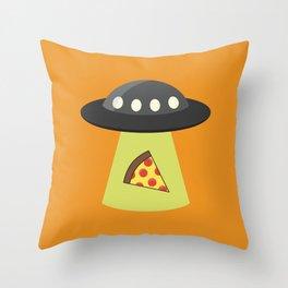 Take Me to Your Pizza Throw Pillow